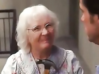 Yes man old lady scene