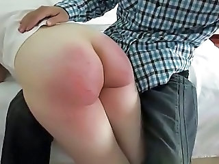 Slap wife butt