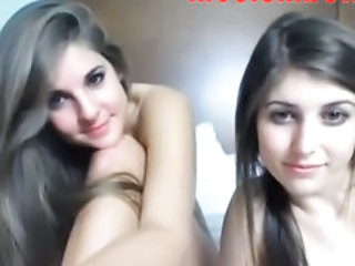Two Teen Sluts Chatting On Webcam 1