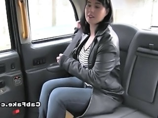Plump British nurse in fake taxi bbw booty
