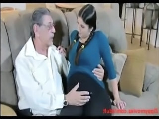 Pregnent Daughter Back at home daddy does doggy fuck free