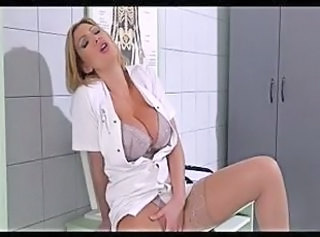 Milf doctor takes care of her patient