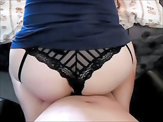 Slut wife Claire taken from behind like a good girl