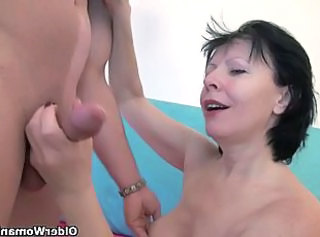 Young cock horny grannies get fucked deeply  : big natural tits mature teacher