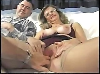 Hot british mature fucked in all holes by two cocks  : anal hardcore matures threesomes