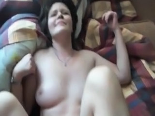 Russian wife sucks and fucks at home in a hot POV