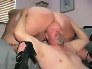 Mature BBW Getting Her Thick Pussy Licked
