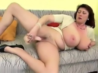Gorgeous mature mother with huge tits an   New GF from MILF