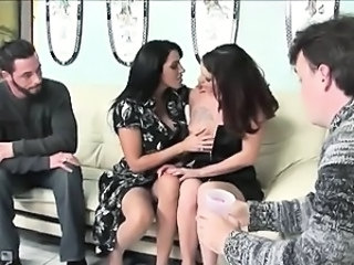 The dark seductress Veronica uses her lawyering skills to