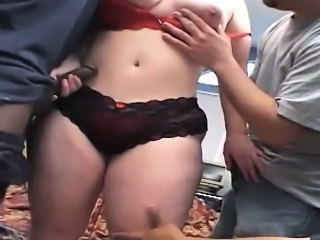Ample beauty Solsa is drooling with delight when she grabs f