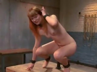 Playful Claire Robbins has Pinched, Slapped And Toyed
