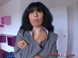 Mature hyper sexuality my pussy is constantly wet! French amateur free