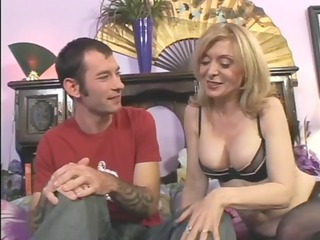 large boobed chick gang bangs a inexperienced stud keporn.com