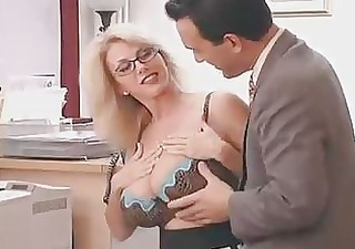 large titted mom with her boss...f85