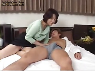Hot Japanese MILF Fucks