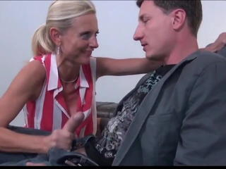 Delightful Mature MILF With New Business Partner on Holidays Sex Tubes