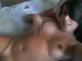 Tgirl TOP Fucks Guy In The Ass and Cums