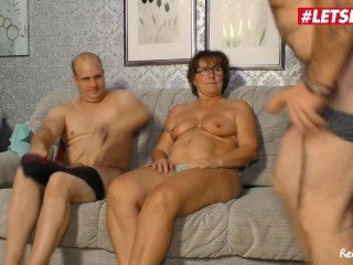 LETSDOEIT - German Mature Wife Shared By Husband With Stranger