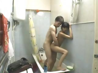 Brother Fucked Step-sister In The Bathroom