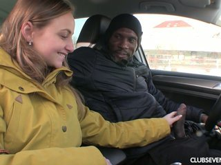 Tempting Czech babe Lady Bug is picked up and fucked by hot blooded mandingo