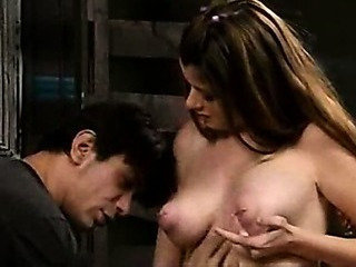 Adorable Teen Babe seduced and fucked in Barn