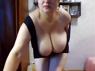 Sexy old horny milf