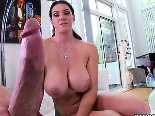 Bosomy Housekeeper Alison Tyler Gets Drilled Hard After Cleaning