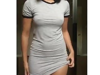 Want to see whats under my dress?